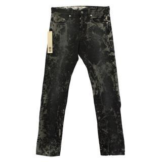 Ksubi Tie Dye Black Jeans