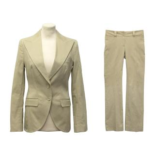 Dolce & Gabbana Beige Suit