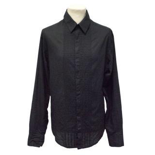 Rajesh Pratap Singh Black Shirt