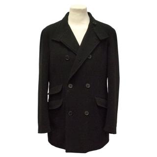 Mulberry Black Wool Jacket