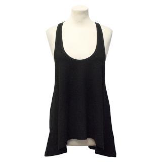 Edun Black Wool Vest Top