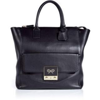 Anya Hindmarch Tiny Tim Tote in Coal