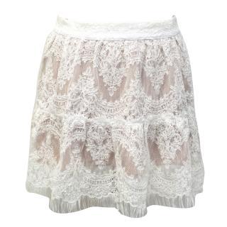 Mlle Mademoiselle Melina Bridal Lace Skirt
