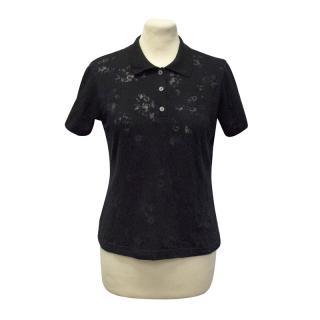 Fade Golf Wear Black Polo Shirt