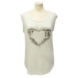 Twenty8Twelve Cream Graphic T Shirt