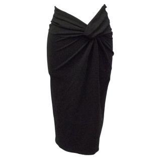 Burberry Black Skirt
