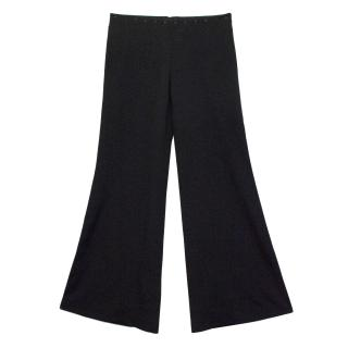 Jean Paul Gaultier Black Flared Trousers