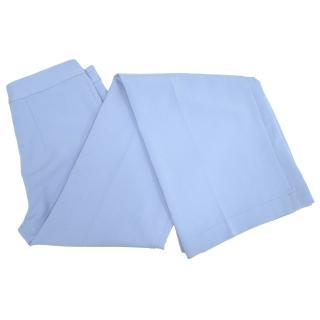 Tucker Light Blue Flared Trousers