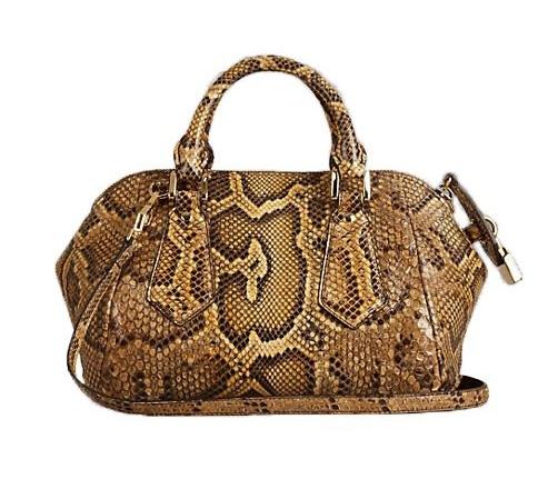 Burberry Blaze Small Python Skin Bag  187ea07432330