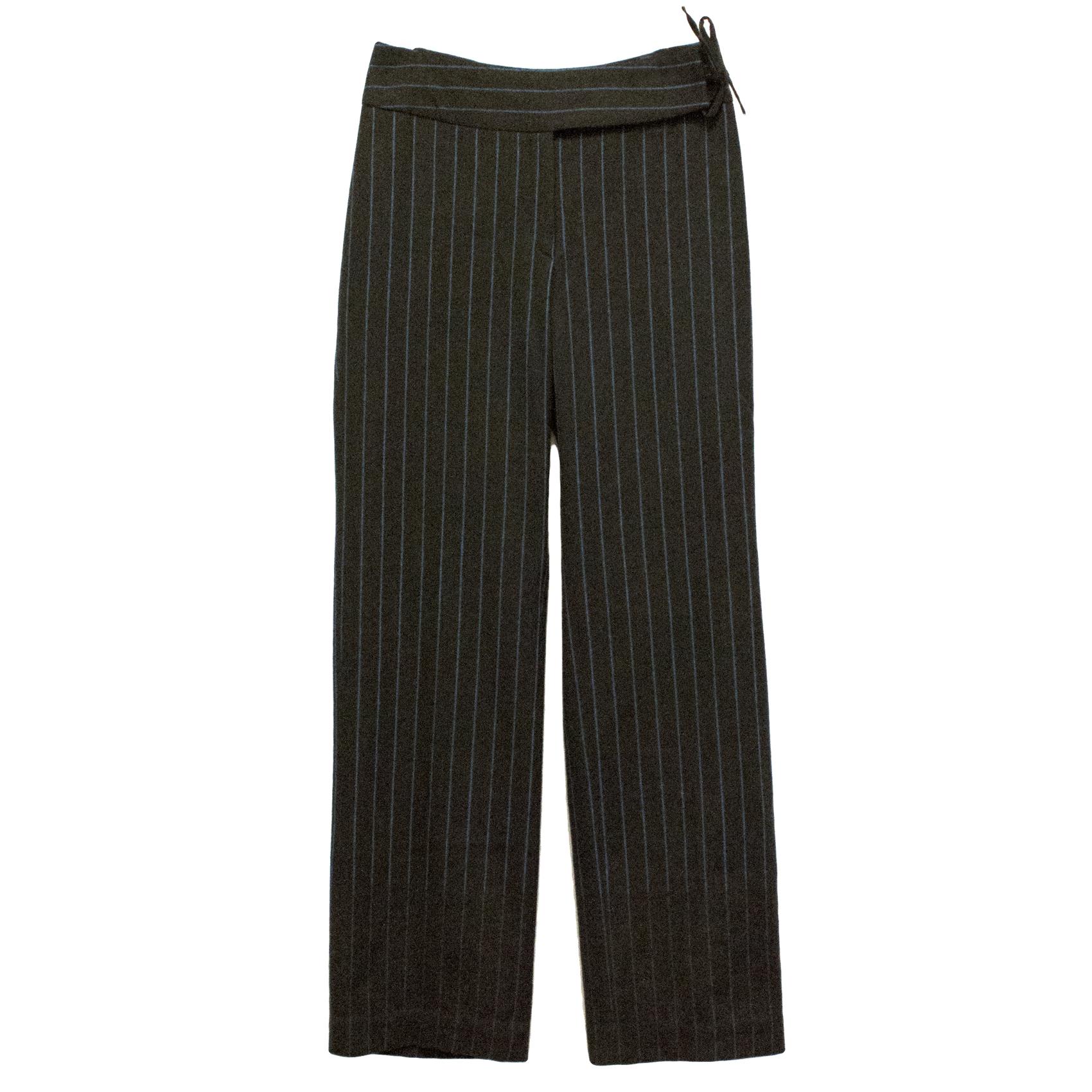Joseph Pinstriped Trousers