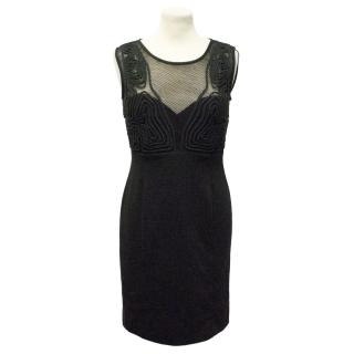 Alice by Temperley Black Mini Tijuana Dress