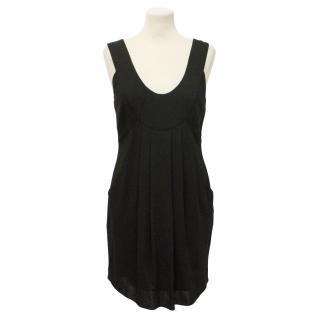 Temperley Black Sleeveless Dress