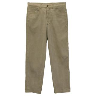 Ermenegildo Zegna Cotton Trousers
