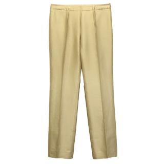 Tomaso Stefanelli Gold Trousers