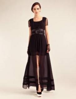 Alice By Temperley Black Pirouette Dress