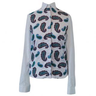 J. W. Anderson Paisley Pattern Silk Shirt