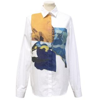Michael Van Der Ham White shirt
