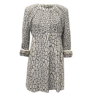 Matthew Williamson Leopard Print Swing Coat