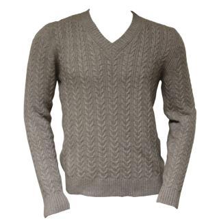 Falke V-Neck jumper virgin wool & cashmere