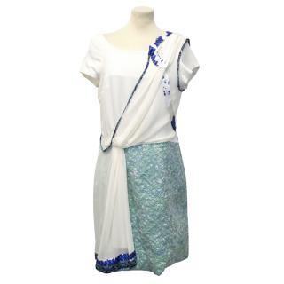Michael Van Der Ham Silk dress