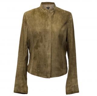 Joseph Goatskin Leather Jacket