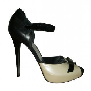 Barbara Bui open toe stiletto shoes