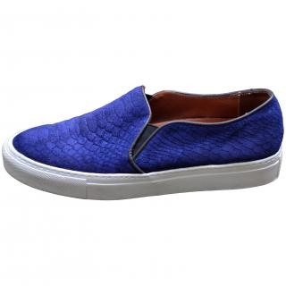 Sandro Blue Trainers
