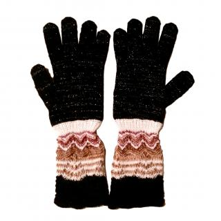 Missoni 3/4 Length Knitted Gloves