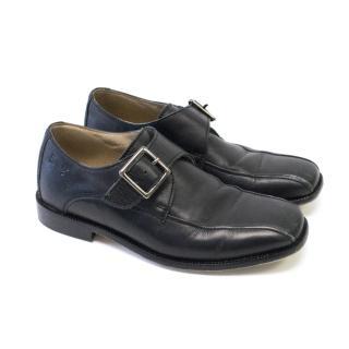 Harrods Kids Black Smart Shoes