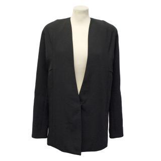 Acne Black Long Blazer