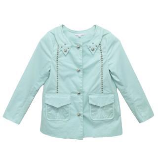 Little Marc Jacobs Kids Turquoise Jacket
