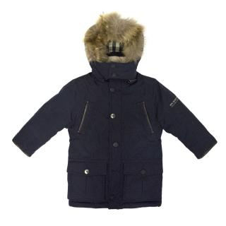 Burberry Kids Puffer Coat