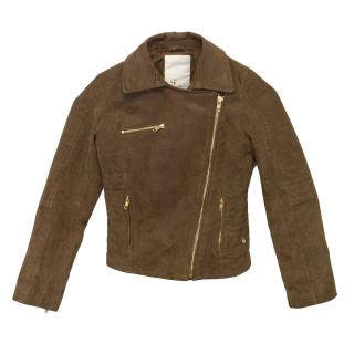 Supertrash Brown Pig Leather Jacket