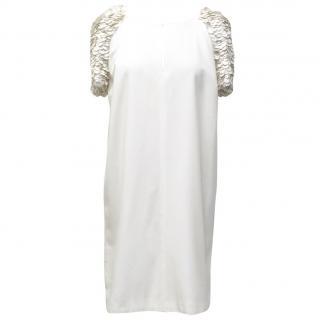 Robert Rodriguez Cream Dress