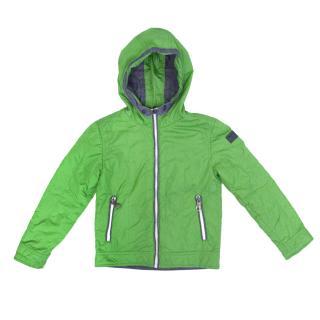 Diesel Green and Denim Blue Reversible Jacket