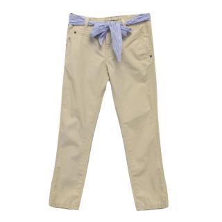 Tommy Hilfiger Stone Chino Trousers