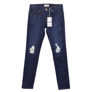 A.N.D. Denim Ripped Jeans