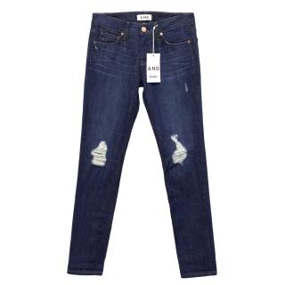 A.N.D. Denim Ripped Jeans