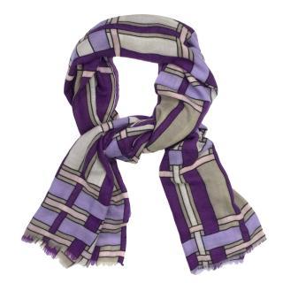 Toosh Purple Syros Cashmere Scarf