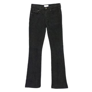 Valentino Washed Black Jeans