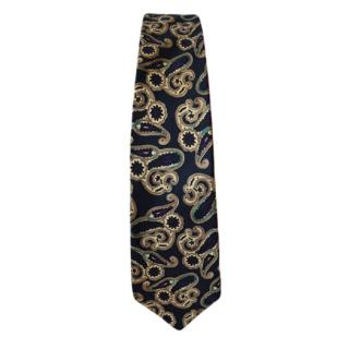 Liberty of London silk paisley print tie