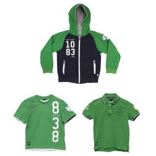 SevenOneSeven Green Jacket, Polo and T Shirt