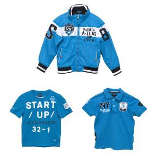 SevenOneSeven Blue Jacket, Polo and T Shirt
