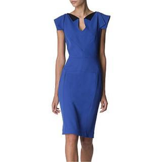 Roland Mouret Eliza Blue Dress