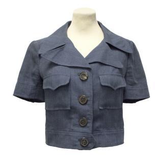 Missoni Linen Blue Jacket