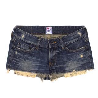 PRPS Denim Shorts