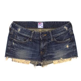 PRPS Denim Shorts