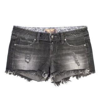 Paige Dark Grey Shorts