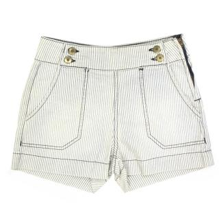 Hudson High Waisted Striped Shorts