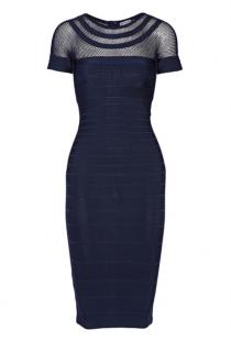 Herve Leger current season 'Tania' bandage dress